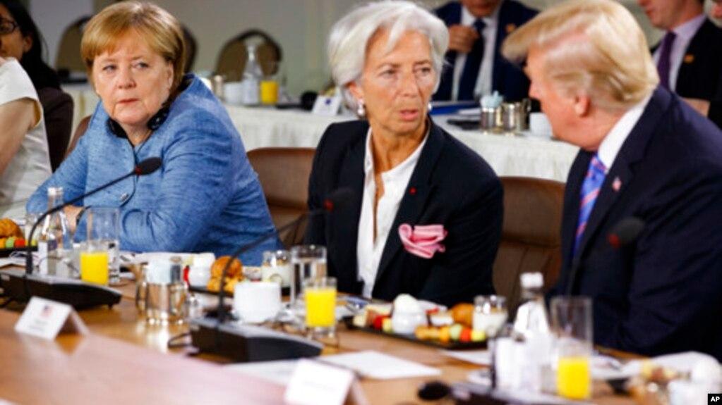 Лидеры G-7 пытаются разрешить торговые разногласия с Трампом