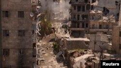 La destrucción en la ciudad de Aleppo deja entrever la magnitud del conflicto en Siria que ha dejado más de 70 mil muertos.