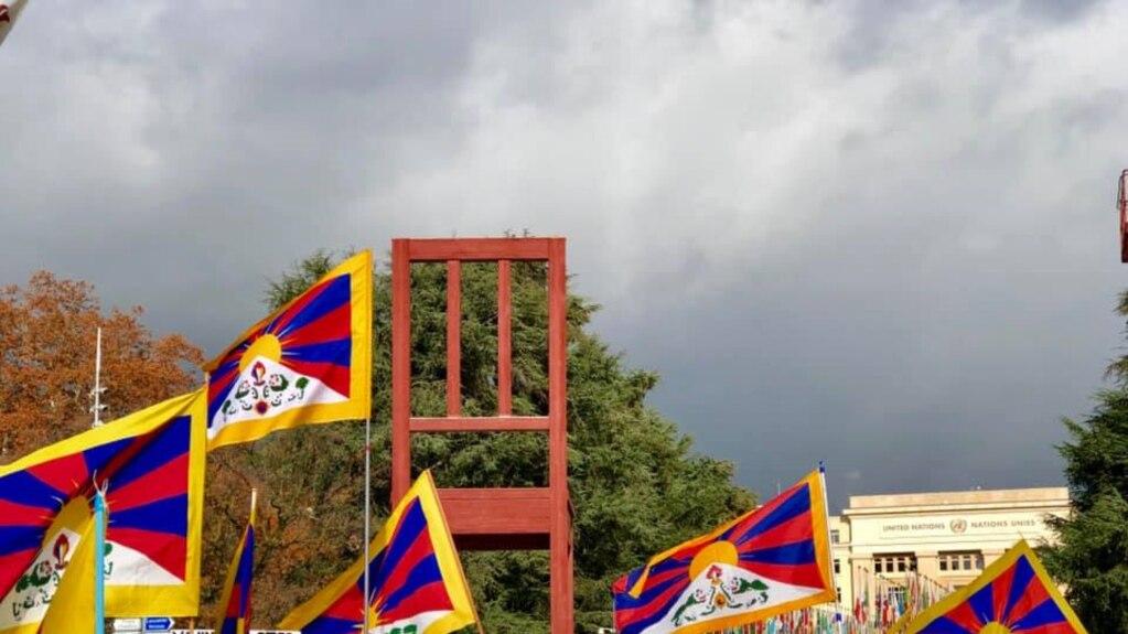 Một kiểu biểu tình vì nhân quyền ở Tây Tạng