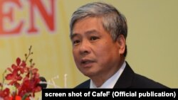 Cựu phó Thống đống Ngân hàng Nhà nước Việt Nam Đặng Thanh Bình.