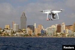Australia menggunakan drone yang dilengkapi kamera untuk mengawasi ancaman erosi di sepanjang pantai selatan (foto: ilustrasi).
