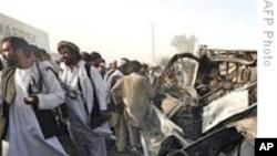 塔利班在选举两天前对喀布尔袭击升级