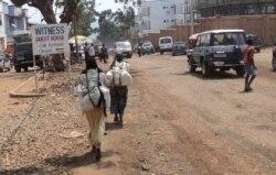 Reportage d'Ernest Muhero, correspondant à Bukavupour VOA Afrique