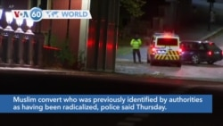 VOA60 World - Norway Police: Bow and Arrow Attack Appears to Be Act of Terror
