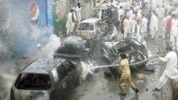 در انفجار بمب در پاکستان ۱۰ تن کشته شدند