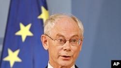 歐洲理事會主席範龍佩(資料圖片)