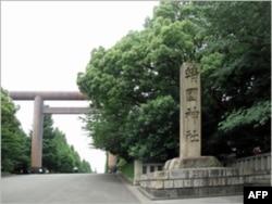 东京靖国神社入口