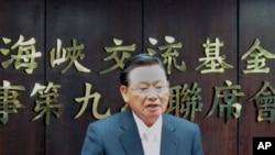江丙坤报告两岸经贸会谈的下一步