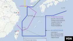 日本中国海防空识别