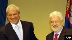 Boris Tadić i Mirko Cvetković (Arhiva FoNet)