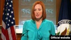 Juru bicara Kementerian Luar Negeri Amerika Jen Psaki (foto: dok).