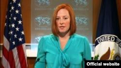 Juru bicara Departemen Luar Negeri Amerika, Jennifer Psaki (foto: dok).