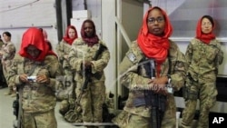 美國女軍人員(資料圖片)