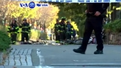 VOA60 America - NY Police: Terror Suspect Carried Out Rampage 'In Name of ISIS'