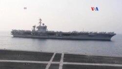 EE.UU. aclara confusión sobre rumbo de portaaviones USS Carl Vinson