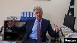 وزیر دفاع خواجہ آصف (فائل فوٹو)