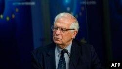یورپی یونین کی خارجہ پالیسی کے سربراہ جوزف بوریل، فائل فوٹو