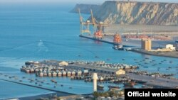 FILE - The port city Gwadar, in southwestern Baluchistan province, is central to the so-called China-Pakistan Economic Corridor, or CPEC.