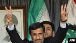 Tổng thống Ahmadinejad đến thăm thị trấn Bint Jbeil, Lebanon