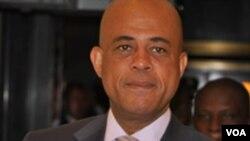 Prezidan ayisyen an Michel Martelly
