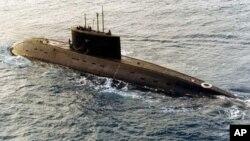 俄製基洛級潛艇 (資料圖片)