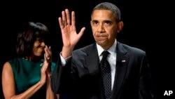 Predsednik Barak Obama i Prva dama Mišel Obama na Nacionalnom molitvenom doručku