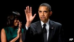 Presiden Obama dan Ibu Negara Michelle Obama (foto: dok)