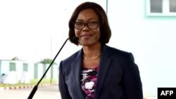 Nialé Kaba, ministre ivoirienne du Plan et du Développement, à Abidjan, le 11 juillet 2017.