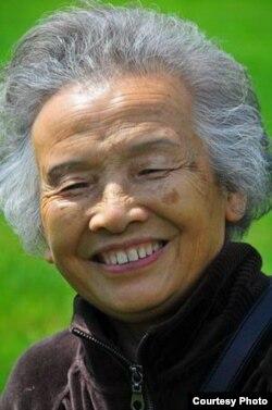 中国资深编辑、宪政学者许医农(网络图片/网友拍摄)