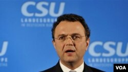 Menteri Dalam Negeri Jerman Hans-Peter Friedrich