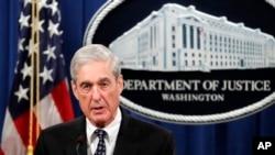 Robert Mueller, Procureur Spécial dans l'enquête sur l'ingérence russe dans la présidentielle américaine de 2016.