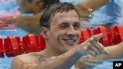 Vận động viên bơi lội của Hoa Kỳ, Ryan Lochte.