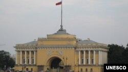 位於聖彼得堡的俄羅斯海軍司令部