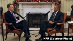 President Obama interview with National Public Radio