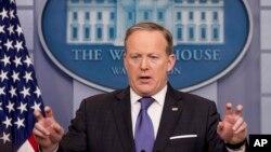 Basado en información de Fox News, el vocero de la Casa Blanca, Sean Spicer, dijo el jueves que la agencia de espionaje británica GCHQ estuvo involucrada en la presunta interferencia telefónica a Trump Tower.
