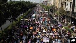 Protesti protiv vlade u Bangkoku