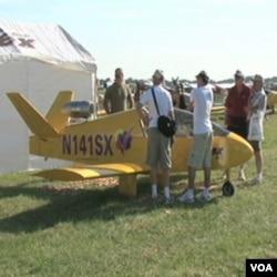 """Električni avion Sonex na aero mitingu """"Air Venture"""" u mjestu Oshkosh u Wisconsinu"""
