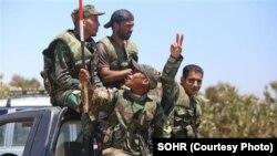 نیرو های سوریه در شهر ادلب