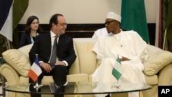 El presidente francés, François Hollande, destacó los progresos de Nigeria y sus vecinos Camerún, Níger y Chad, en la lucha contra Boko Haram.