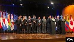 El Grupo de Lima ha sido muy activo en la búsqueda de una solución política a la crisis en Venezuela.