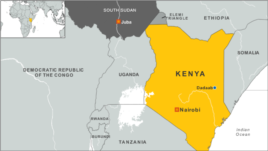 Dadaab, Kenya map