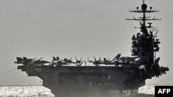 """美國核動力航母""""喬治.華盛頓""""號"""