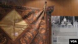 Display Batik di Musium Nasional Indonesia, Jakarta (foto:dok).