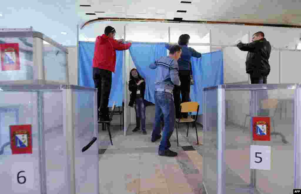 Ղրիմում անցկացվում է Ռուսաստանին միանալու հարցով հանրաքվե