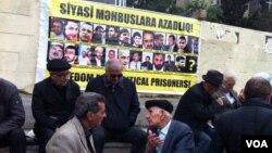 Milli Şuranın prezidentliyə namizədi Cəmil Həsənlinin seçicilərlə növbəti görüş mitinqi