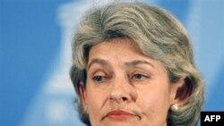 UNESCO Başkanı İrina Bokova