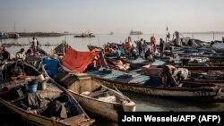 Bissau, porto