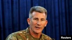 افغانستان میں امریکی فوج کے کمانڈر جنرل نکولسن، فائل فوٹو