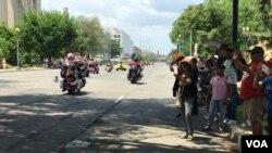 گزارش تصویری: رژه موتورسواران موسوم به «غرش صاعقه» در واشنگتن