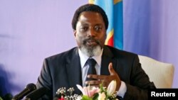 Le président Joseph Kabila , Kinshasa, 26 janvier 2018.